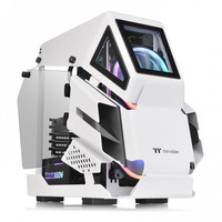 Casing Thermaltake AH T200 Micro Chassis - White - CA-1R4-00S6WN-00