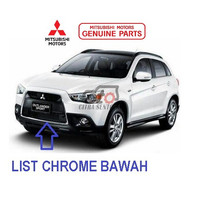LIST CHROME BAWAH OUTLANDER GARNISH,FR BUMPER,CTR 6400C962