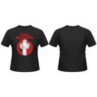 Baju Band Original BAD RELIGION Cross Buster PHD Official Merchandise - M