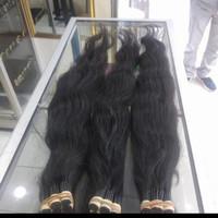 Rambut Sambung Super Tebal 70cm per 100 helay