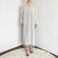 KINA ATELIER - Jenaiah Dress in white
