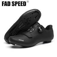 Sepatu Roadbike Multi Cleat SPEED Black ~ Road Shoes Gowes Balap