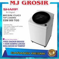 MESIN CUCI SHARP ESM 909 TGG 9KG 1 TABUNG ESM909 TOP LOADING 9 KG