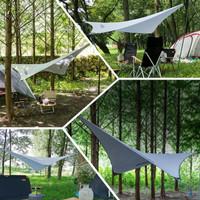 Flysheet Nata Tenda Wings Flying 3x3 Meter Cover Tenda Bahan Cordura