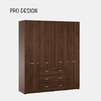 Pro Design Belvis Lemari Pakaian 4 Pintu Ukuran 190