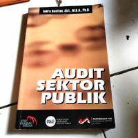 buku audit sektor publik prof indra bastian