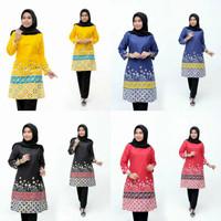 PROMO Baju Atasan Batik Wanita Tunik Batik Dress Batik Blus Batik