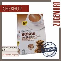 ChekHub Kokoo Hot Chocolate 40 gr / 15 sachet Minuman Cokelat Coklat