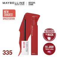 Maybelline Liquid Matte Lipstick Make Up Superstay Matte Ink Spice