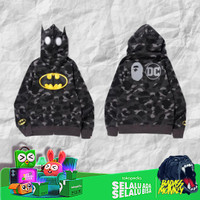 BAPE x DC Batman Color Camo Full Zip Hoodie #1 (Kids) Black