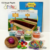 CG Dough SPRING Playmat / paket playdough playdoh tema Musim semi