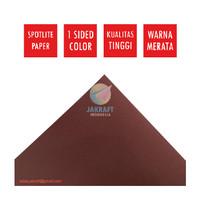 Kertas Karton Asturo Warna Coklat Cokelat Brown 60 x 40 cm Scotlite