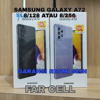 SAMSUNG GALAXY A72 8/256 DAN 8/128 GARANSI RESMI SEIN BARU