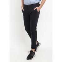 TRIPLE Celana Ankle Pant Slim Fit (312 828 Nvy) - Navy