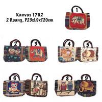Tas Kanvas 1702 / Tas Canvas / Handbag Kanvas / Tas Thailand Kanvas
