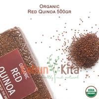 Organic Red Quinoa 500gr ( Quinoa Merah Organik)
