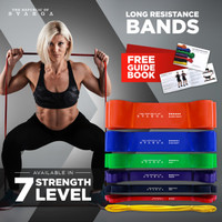 Long Resistance Band Svarga | Premium Latex | Karet Fitness & Gym