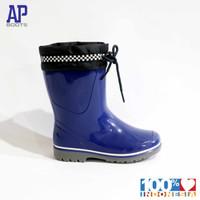 AP 2012 GO RACE 15.0-18.0 BLUE - SEPATU BOOTS KARET ANAK - AP BOOTS - 15