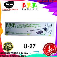 Antena digital UHF U-27 / U27 / ANTENNA TV UHF DIGITAL REMOTE CONTROL