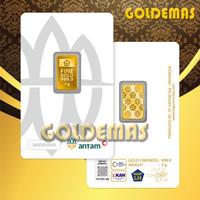 3 Gram Antam/LM/Logam Mulia/GOLDEMAS