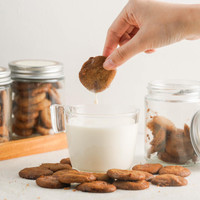 Brown Sugar Crunchy Cookies