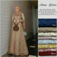 Gamis Muslimah/Baju Syari Wanita/Dress Wanita Baju Gamis Pesta Wanita