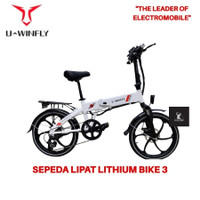Sepeda Lipat Listrik Uwinfly Lithium Bike 3 / LB 3 / Petra