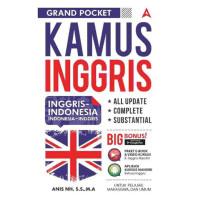 Kamus lengkap Arab Indo Inggris Jepang korea - INGGRIS