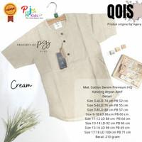 Qois by Pgj - Baju Kemeja Koko Anak Remaja Laki