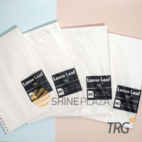 Isi Loose Leaf B5 TRG - Refill Binder Paper B5 Dotted Grid Plain Ruled
