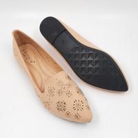 Laviola Shoes - Laviola Flat Shoes - 2859 LSF - KHAKI
