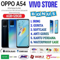 OPPO A54 RAM 6/128 GB GARANSI RESMI OPPO INDONESIA