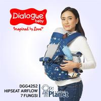 [Dialogue Baby] Gedongan Depan Hipseat Air Flow 7 Posisition Plane