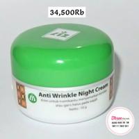 liz skin care / cream anti kerut / anti wrinkle night cream / krim
