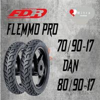 BAN LUAR FDR PAKET 70/90-17 DAN 80/90-17 FLEMMO PRO TUBELESS