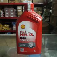 Oli Shell Helix HX3 20w/50 1L