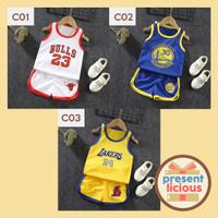Jersey Bayi Impor / Baju Basket Anak Impor / Baju Basket Setelan
