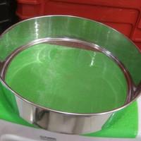 Saringan/Ayakan tepung Stainless steel D.25 T.6