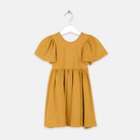 Minimacko Dress Anak Perempuan Twirl Dress Flared Sleeve