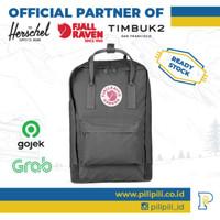 Tas Laptop Ransel Kanken ORIGINAL 15 Super Grey Fjallraven Backpack