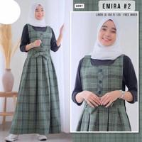 Emira Overall Set Baju Setelan Wanita Terbaru Kekinian gamis remaja