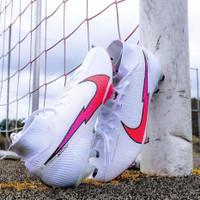 Sepatu Bola Nike Mercurial Superfly 7 Elite Pearl White Pink Fg New