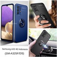 Casing Softcase Iring Samsung Galaxy A32 4G Soft Back Case - Hitam
