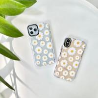 WHITE DAISY CASE iPhone 12 12Pro 12ProMax 11 11Pro 11ProMax 7 8 Plus X