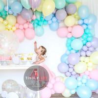 Balon Macaron PERPACK / Balon Latex Pastel 12 Inch Perpack isi 100 Pcs