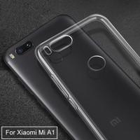 Xiaomi Mi A1 - Mi5X - Clear Soft Case TPU Casing Cover Transparan Jell