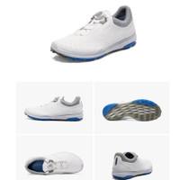 Sepatu golf ecco BOA casual breathable comfort golf shoes - Putih, 39