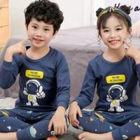 Baju tidur anak piyama setelan cewek & cowok 1-9 tahun.