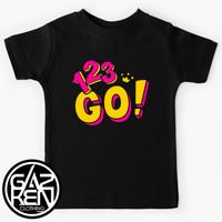 Kaos Anak 123 Go Indonesia Youtube Channel Logo Baju Lucu