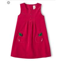 dress overall werpak anak perempuan branded origin gymboree pink apel